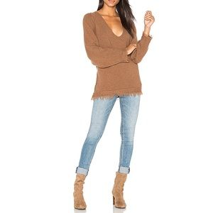 Free People Irresistible V Pullover Sweater